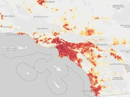 San Diego County Zoning Map by Mapped The Los Angeles Land Lost To U0027careless U0027 Development