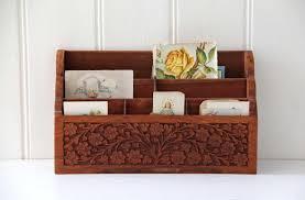 Wooden Desk Organizers Wood Desk Accessories Organizers Desk Design Ideas