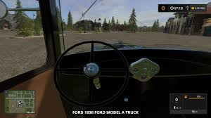 Old Ford Truck Games - 1930 ford model a truck v1 0 farming simulator 17 mod fs 2017 mod