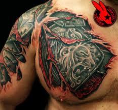 shoulder tattooo mens shoulder armor google search things to wear pinterest