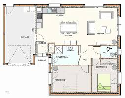 plan maison 3 chambre plain pied chambre best of plan de maison plain pied 3 chambres avec garage