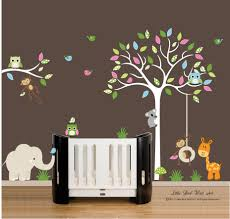 home design corner family tree wall decal transitional compact