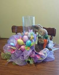 Easter Table Decorations Walmart by How To Make An Easter Centerpiece Tutorial Thanks For Watching