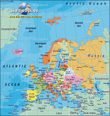 Current Map Of Europe Download Map Of Europe World Atlas Major Tourist Attractions Maps