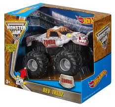 zombie monster jam truck wheels monster jam rev tredz zombie vehicle walmart canada