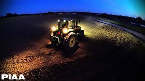 led tractor light bar piaa rf series led lightbars on a john deere tractor youtube
