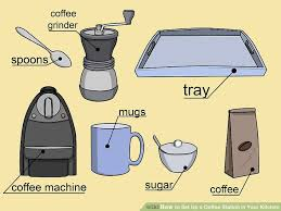 how to set up your kitchen how to set up a coffee station in your kitchen 14 steps