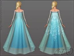 my sims 3 blog frozen and ice princess dress and accessories by beo