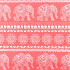 coral u0026 elephant aztec print wristlet wallet u0027s