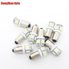 24v led light bulb dongzhen 24v led t11 ba9s t4w h6w car xenon white 5050 5 led light