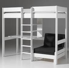 lit mezzanine avec bureau enfant lit enfant sur lev blanc avec bureau et couchette en plus con lit