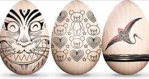wooden easter eggs 30 creative exles of easter egg designs inspirationfeed