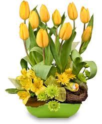 Floral Arrangement On The Bright Side Floral Arrangement Spring Flowers Flower