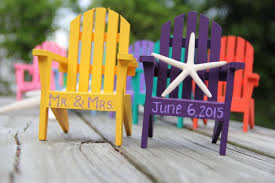 chair cake topper any color custom personalized adirondack chair cake topper
