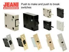 Pressure Switch For Cabinet Door Cupboard Switch Home Furniture U0026 Diy Ebay
