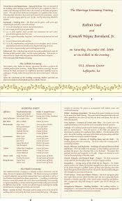 indian wedding program template wedding ceremony textsle wedding ceremony textwedding hindu