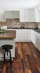 modern white kitchen cabinets wood floor 50 black countertop backsplash ideas tile designs tips