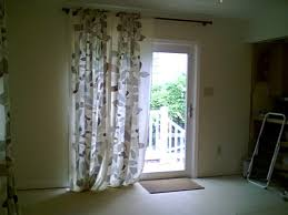 patio door curtain ideas for a bay window rberrylaw patio door
