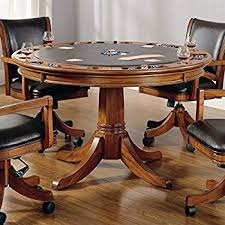 amazon com hillsdale palm springs game table kitchen u0026 dining