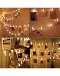 battery powered hanging l big deal on photo clips string lights 20ft 40 led battery powered
