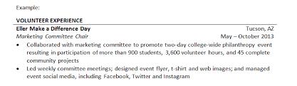 awesome listing volunteer work on resume ideas simple resume