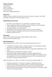 teacher resume professional skills receptionist sle resume medical receptionist http resumesdesign com