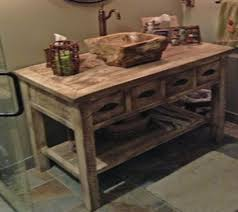 Rustic Bathroom Cabinets Vanities - vanities rustic bathroom vanities barnwood vanities