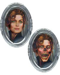 3d lenticular skull woman halloween wall decoration horror