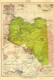 Map Of Libya Libya Map 1930