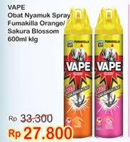 Obat Nyamuk Vape promo harga obat nyamuk spray fumakilla terbarucek harga diskon