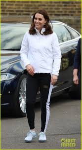 kate middleton casual kate middleton switches from business casual to sports ready for