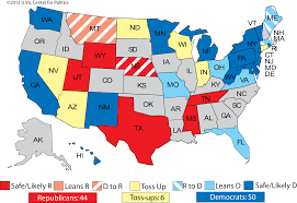 1980 Presidential Election Map by Larry J Sabato U0027s Crystal Ball Ratings Changes Obama U0027s Debate
