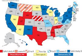 Romney Obama Map Larry J Sabato U0027s Crystal Ball Ratings Changes Obama U0027s Debate