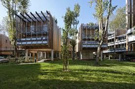 siege social quiksilver collective eco housing la canopée arotcharen architecte
