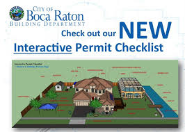 building new house checklist building permits and inspections boca raton fl