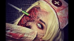 zombie nurse sfx halloween tutorial youtube