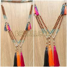 handmade necklace with beads images Mala beads tassels necklace handmade bali mala beads tassels jpg
