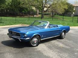 1967 blue mustang ford mustang convertible 1967 blue for sale 7f03c161779