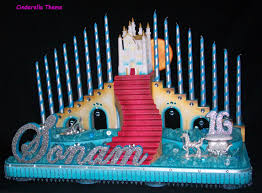 cinderella sweet 16 theme sweet 16 and quinceanera candle lighting ceremony stands