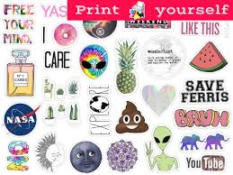printable tv stickers sticker print out set 125 mockup printable tumblr stickers stickers