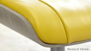 Yellow Recliner Chair Yellow Recliner Chair Mustard Yellow Real Leather Reclining Chair