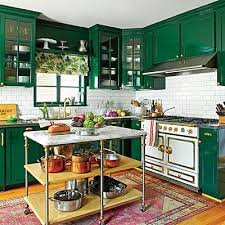 Kitchen Cabinets Green Green Kitchen Cabinets 2016 Kitchen Trends The Estate Of Things