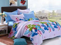 Girls Bedding Sets by Various Colorful Beautiful Flowers Teen Girls Bedding Sets 4pcs