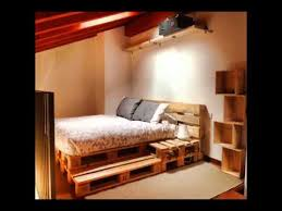 bedroom furniture made from pallets interiors design