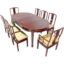 Rosewood Dining Room Set Modern Solid Rosewood Dining Set Table Eight Chairs 2
