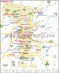 Time Zone Map Usa With Cities by Kansas City Map Map Of Kansas City Missouri