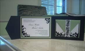 tri fold invitation template wedding ideas custom tri fold wedding invitation jeneze designs