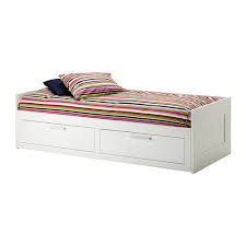 brimnes daybed frame with 2 drawers white daybed drawers and