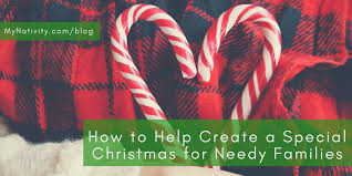 how to help create a special for needy families