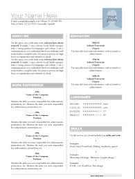 Best Free Resume Templates by Adobe Resume Template